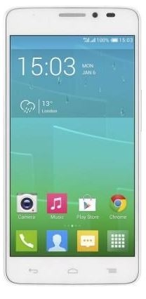 Alcatel One Touch Idol X+ 6043D White