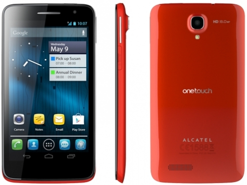 Alcatel OneTouch ScribeHD 8008D Red