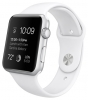 Apple Watch Sport 42mm with Sport Band Silver White