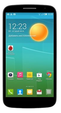 Alcatel Pop S9 7050Y Black Dark Chocolate