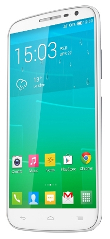 Alcatel Pop S9 7050Y White Pure White Glossy