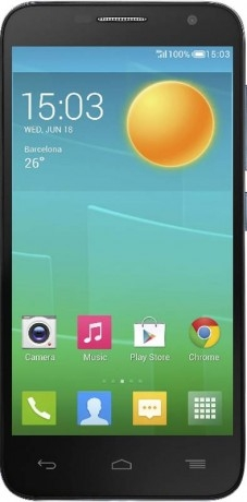 Alcatel OT6016D Idol 2 Mini Black Slate