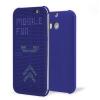 ����� ��� HTC One E8 Dot View Cover HC M110 Blue