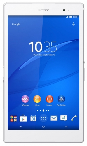 Sony Xperia Z3 Tablet Compact 16Gb WiFi White