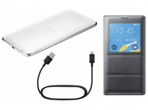 купить комплект беспроводной зарядки для Samsung Galaxy Note 4 Sm