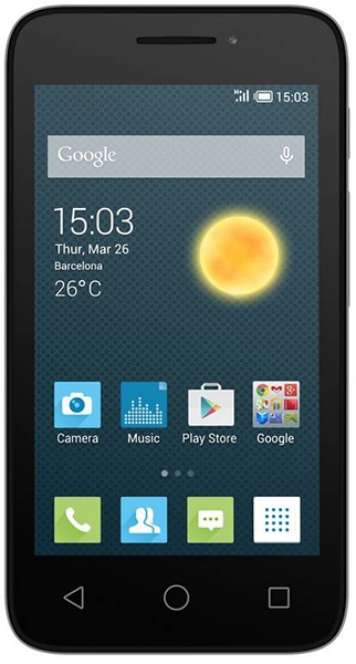 Alcatel OneTouch Pixi 3 (4.5) 4027D Black