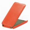 Чехол книжка для Philips Xenium W6610 UpCase Оранжевый