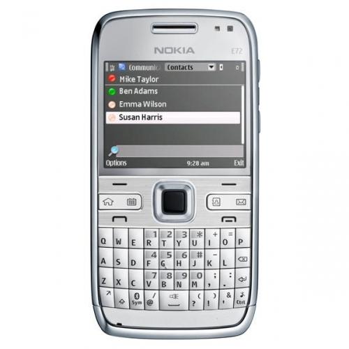 Nokia E72 Zircon white Navi Ростест (РСТ) - купить по лучшей цене ...