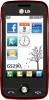 LG GS290 Wine Red