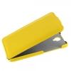 Чехол книжка для Alcatel Idol 2 6037Y UpCase желтый