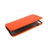 Чехол книжка для HTC One dual sim UpCase оранжевый боковой