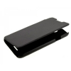 Чехол книжка для Huawei D2 UpCase черный боковой