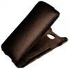 Чехол книжка для Nokia Lumia 925 Abilita черный флотер