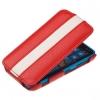 Чехол книжка для Nokia Lumia 620 UpCase красно-белый