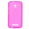 Силиконовый чехол для Alcatel Pop S9 7050Y TPU розовый матовый