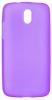 Силиконовый чехол для HTC Desire 516 Dual Sim TPU 0.5мм фиолетовый глянцевый