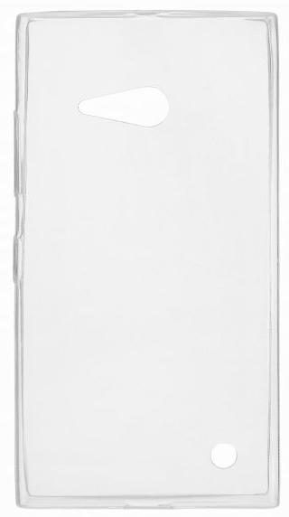 TPU Силиконовый чехол для Nokia Lumia 730 Dual Sim и для Nokia Lumia 735 0.5мм прозрачный глянцевый