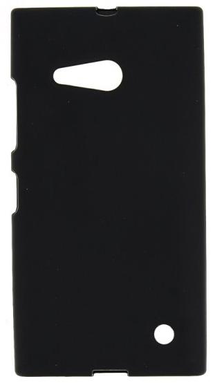 TPU Силиконовый чехол для Nokia Lumia 730 Dual Sim и для Nokia Lumia 735 черный матовый
