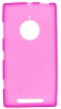 Силиконовый чехол для Nokia Lumia 830 TPU розовый матовый
