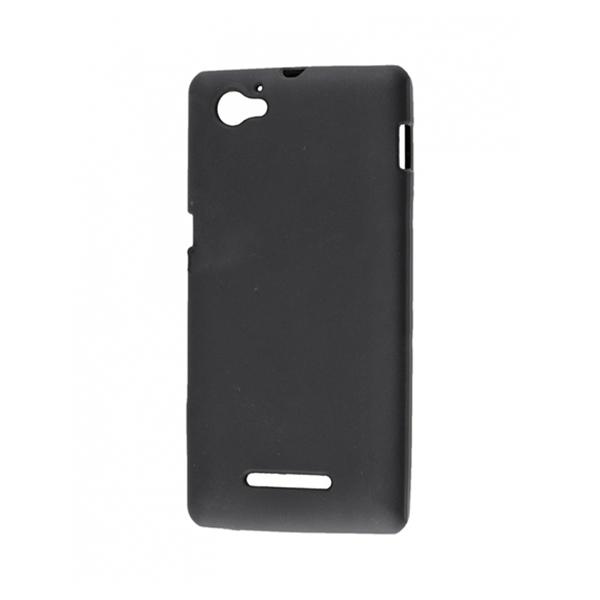 TPU Силиконовый чехол для Sony Xperia M черный матовый