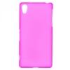 Силиконовый чехол для Sony Xperia Z2 (D6503) TPU розовый матовый
