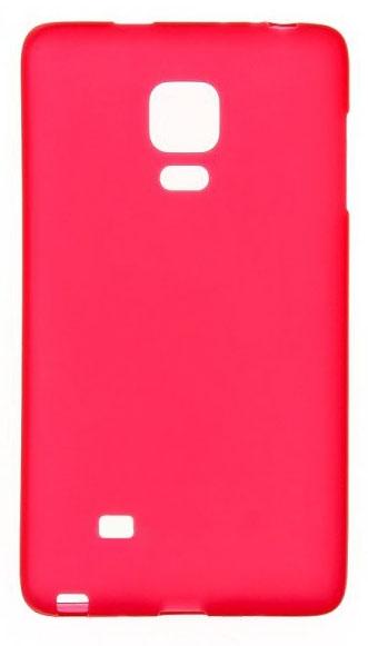 TPU Силиконовый чехол для Samsung Galaxy Note Edge SM-N915F малиновый матовый