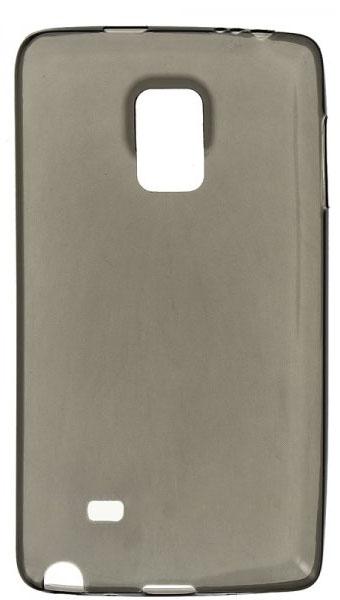 TPU Силиконовый чехол для Samsung Galaxy Note Edge SM-N915F 0.5mm серый глянцевый