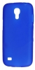 Силиконовый чехол для Samsung Galaxy S4 mini GT-I9195 и Samsung Galaxy S4 mini Duos GT-I9192 TPU синий матовый