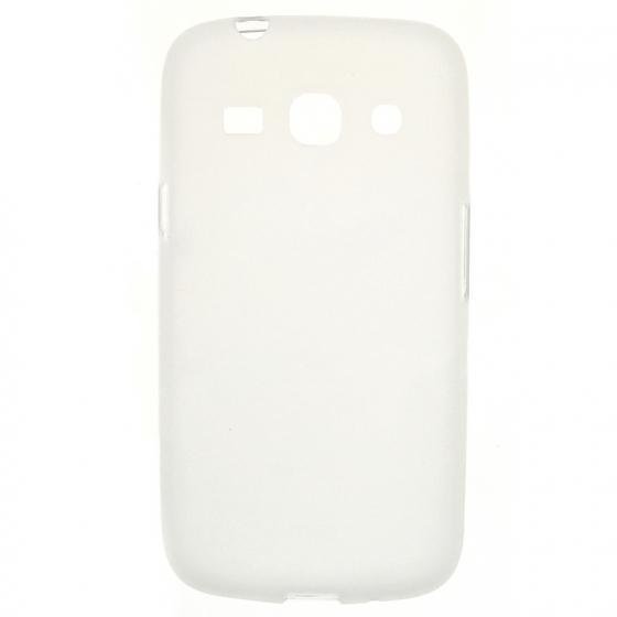 TPU Силиконовый чехол для Samsung Galaxy Star Advance SM-G350E белый матовый