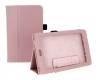 Чехол книжка для Asus Nexus 7 светло-розовый флотер