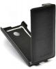 Чехол книжка для Microsoft Lumia 532 Dual Sim черный Armor Case