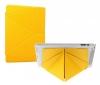Чехол книжка для Apple iPad Air 2 Kwei case Smart Case желтый