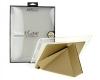 Чехол книжка для iPad mini with Retina Display Kwei case Smart Case золотой