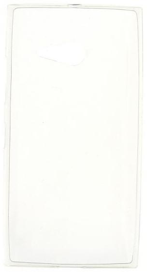 TPU Силиконовый чехол для Microsoft Lumia 535 Dual Sim прозрачный глянцевый