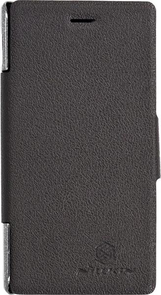 Nillkin для HTC One Max Fresh Series Leather Case черный