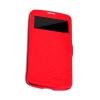 Чехол книжка для Samsung Galaxy S4 Active GT-I9295 Nillkin Fresh Series Leather Case красный