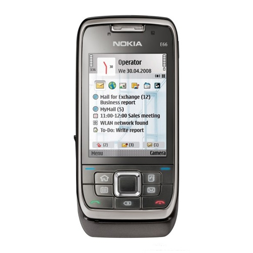 Nokia E66, Grey Steel