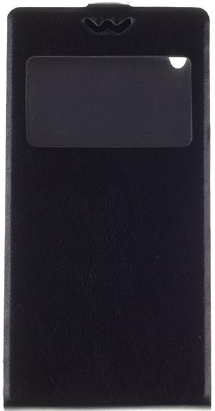 Skinbox для Sony Xperia Z3 D6603 Flip Slim AW черный