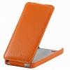Чехол книжка для Samsung Galaxy Ace 4 Lite SM-G313H UpCase Оранжевый