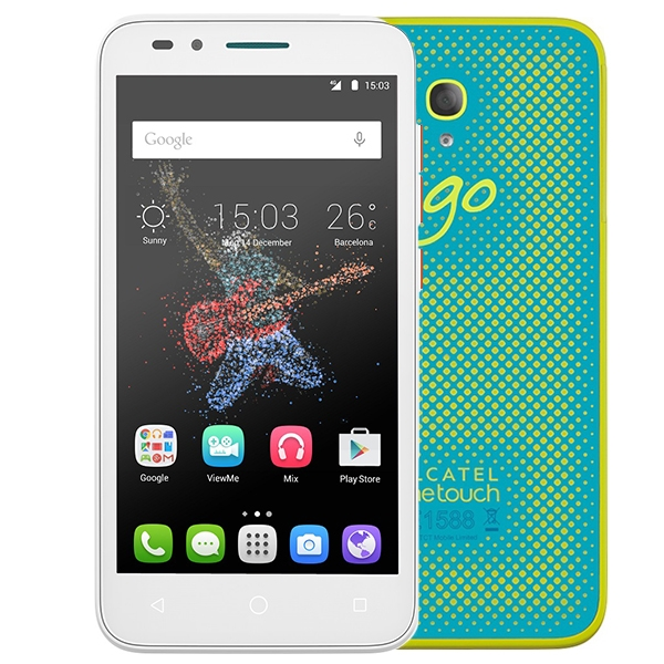 Alcatel One Touch 7048X Go Play Lte White Green