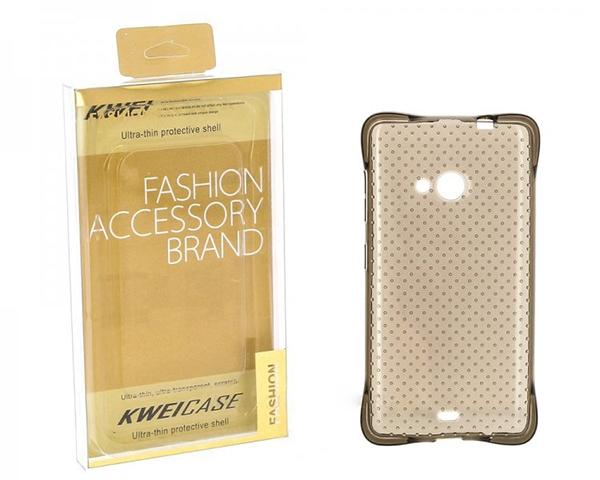 Kwei Силиконовый чехол для Samsung Galaxy S4 mini Duos GT-I9192 Case Fashion серый