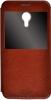 Чехол книжка для Meizu M2 Note Skinbox Lux AW Коричневый