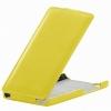 Чехол книжка для Xiaomi Mi4i UpCase Желтый