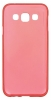 Силиконовый чехол для Samsung Galaxy E5 SM-E500HD TPU 0.5мм красный глянцевый