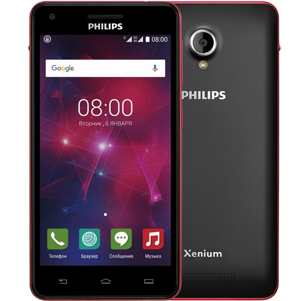 Philips Xenium V377 Black