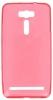Силиконовый чехол для Asus Zenfone 2 Laser ZE601KL TPU 0.5мм красный глянцевый