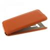 Чехол книжка для Asus ZenFone Selfie ZD551KL UpCase оранжевый