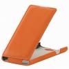 Чехол книжка для Philips S309 UpCase оранжевый