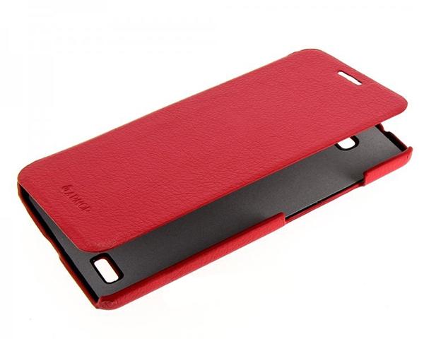Armor Case Flip для Huawei Ascend Mate 7 Красный боковой