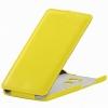 Чехол книжка для Huawei Mate S UpCase Желтый